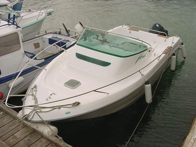 b2 marine cap ferret 650 cc   bateau moteur neuf