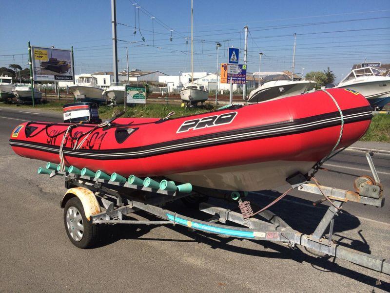zodiac pro ii 470 bateau moteur d 39 occasion lemerle bateaux. Black Bedroom Furniture Sets. Home Design Ideas