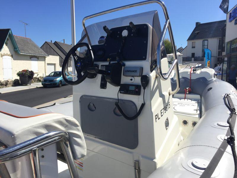 zodiac pro open 550   bateau moteur d u0026 39 occasion